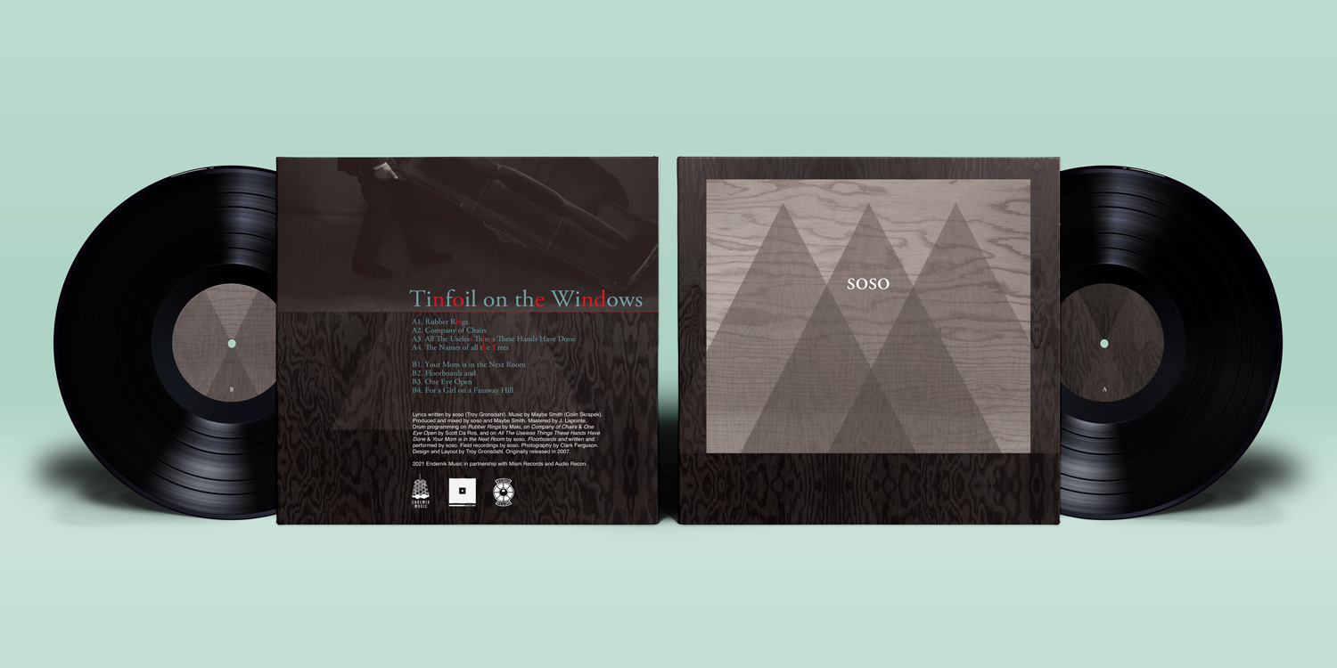 soso - Tinfoil on the Windows - Vinyl Mockup - Full