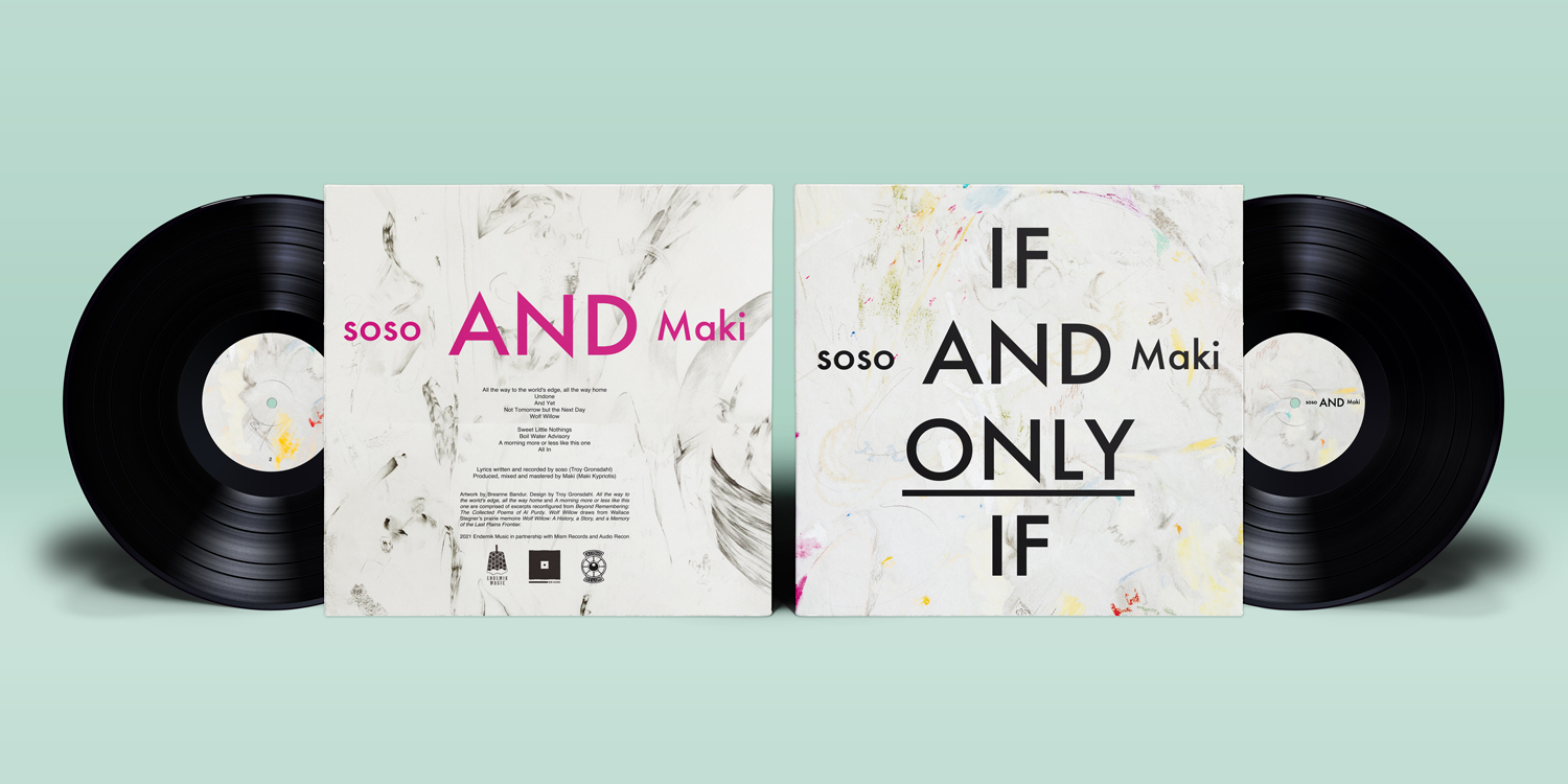soso - If and Only If - Vinyl Mockup - Full